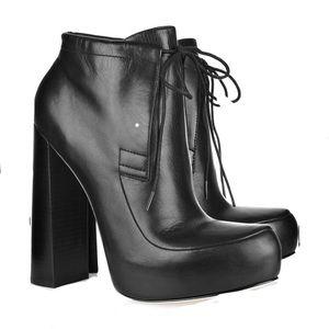 Alexander Wang Constance platform boot black